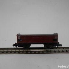 Trenes Escala: VAGÓN BORDE ALTO ESCALA N DE PIKO . Lote 177570302
