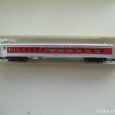 Trenes Escala: VAGON COCHE PASAJEROS MODEL POWER ESCALA N NUEVO CON SU CAJA. Lote 180132677
