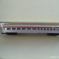 Trenes Escala: VAGON COCHE PASAJEROS MODEL POWER ESCALA N NUEVO CON SU CAJA. Lote 180132853