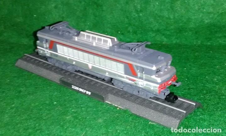 Trenes Escala: LOTE OFERTA - LOCOMOTORA ESTÁTICA DE COLECCION - NUEVA EN SU BLISTER - ESCALA N 1:160 - Foto 2 - 180435237