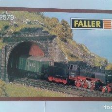 Trenes Escala: FALLER, 2 ENTRADAS TUNEL DOBLE VIA, REF. N 2579. Lote 182960617