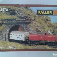 Trenes Escala: FALLER, 2 ENTRADAS TUNEL UNA VIA, REF. N 2578. Lote 182961122