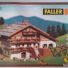 Trenes Escala: FALLER, CLUB MODEL FALLER, ALBERGUE ALPENBLICK, REF. N 2230. Lote 182961927