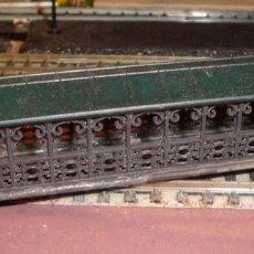 Trenes Escala: PUENTE PEATONAL CUBIERTO. Lote 183505162