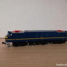 Trenes Escala: LOCOMOTORA ELECTRICA RENFE 251.001.4 ESCALA N DE KATO. Lote 184359577