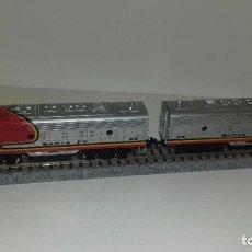 Trenes Escala: BACHMANN N LOCOMOTORA SANTA FE CON DUMMYL44-89 (CON COMPRA DE 5 LOTES O MAS ENVÍO GRATIS). Lote 185905728