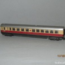 Trenes Escala: ANTIGUO COCHE DE VIAJEROS DE LA DB TRANS EUROP EXPRESS EN ESCALA *N* DE TRIX MINITRIX. Lote 187921012