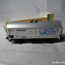 Trenes Escala: VAGÓN CERRADO ESCALA N DE MINITRIX . Lote 190909511
