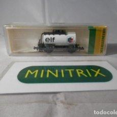 Comboios Escala: VAGÓN CISTERNA ESCALA N DE MINITRIX . Lote 190935888
