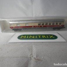 Trenes Escala: VAGÓN RESTAURANTE ESCALA N DE MINITRIX . Lote 191005553