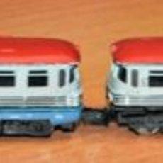 Trenes Escala: TREN AUTOMOTOR 2 UNIDADES ARTESANO. ESCALA N, VÁLIDO IBERTREN.. Lote 191104811