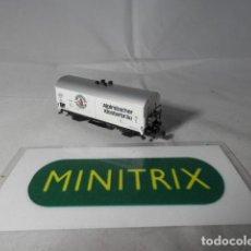 Trenes Escala: VAGÓN CERRADO ESCALA N DE MINITRIX . Lote 191336222
