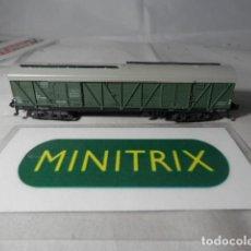 Trenes Escala: VAGÓN CERRADO ESCALA N DE MINITRIX . Lote 191812605