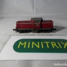 Trenes Escala: LOCOMOTORA DIESEL DE LA DB ESCALA N DE MINITRIX. Lote 191815346