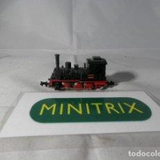 Trenes Escala: LOCOMOTORA VAPOR ESCALA N DE MINITRIX . Lote 191815492