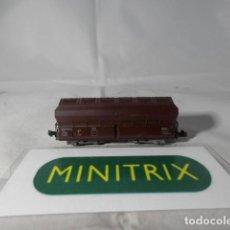 Trenes Escala: VAGÓN TOLVA ESCALA N DE MINITRIX . Lote 191816241