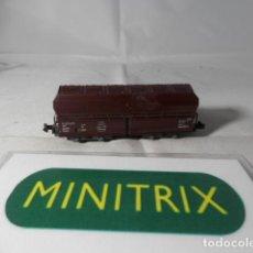 Trenes Escala: VAGÓN TOLVA ESCALA N DE MINITRIX . Lote 191816308