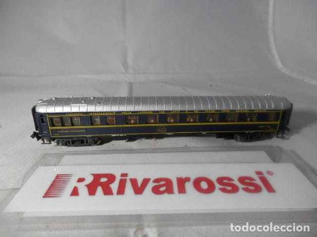 VAGÓN RESTAURANTE ESCALA N DE RIVAROSSI (Juguetes - Trenes Escala N - Otros Trenes Escala N)
