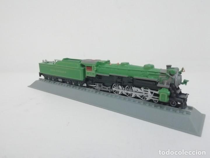 Trenes Escala: Locomotora Southern Railway Ps-4 Escala N USA Colección Del Prado NUEVA - Foto 2 - 192044775
