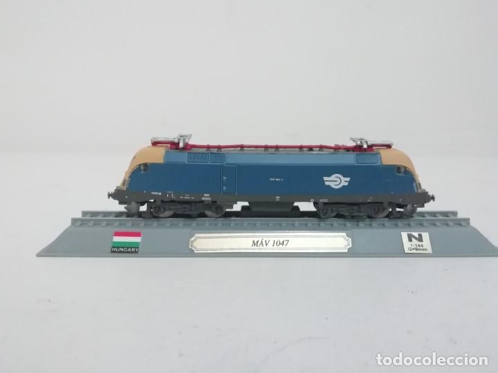 LOCOMOTORA MAV 1047 ESCALA N HUNGRÍA COLECCIÓN DEL PRADO NUEVA (Juguetes - Trenes Escala N - Otros Trenes Escala N)