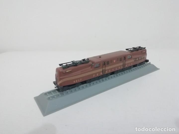 Trenes Escala: Locomotora Pennsylvania Railroad GG1 Escala N USA Colección Del Prado NUEVA - Foto 2 - 192045613