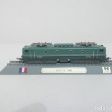 Trenes Escala: LOCOMOTORA SNCF CC 7100 ESCALA N FRANCIA COLECCIÓN DEL PRADO NUEVA. Lote 192045976