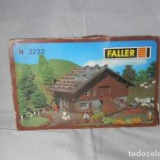 Trenes Escala: EDIFICIO ESCALA N DE FALLER . Lote 192632443