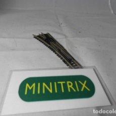 Comboios Escala: DESVIO ESCALA N DE MINITRIX . Lote 193820452