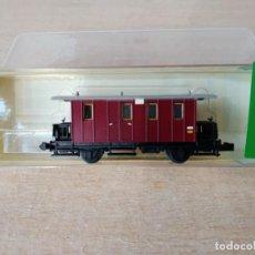 Trenes Escala: MINITRIX 13068 VAGÓN PASAJEROS ANTIGUO . Lote 193960710