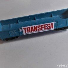 Trenes Escala: VAGÒN GÒNDOLA - FABRICADO POR ATLAS - SIN SEÑALES DE USO. Lote 193988561