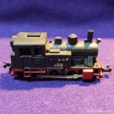 Trenes Escala: LOCOMOTORA A VAPOR A.T. & S.F. 123 . ROJO. ESCALA N. TREN.. Lote 194136695