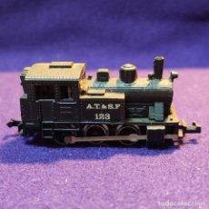 Trenes Escala: LOCOMOTORA A VAPOR A.T. & S.F. 123 . ESCALA N. TREN.. Lote 194136770
