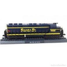 Trenes Escala: GM SD 45 CO-CO SANTA FE 5008 ESCALA N 1:160 FERROCARRIL LOCOMOTORA MODELISMO. Lote 194303301