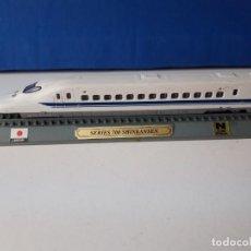 Trenes Escala: LOCOMOTORA SHINKANSEN ESCALA N 1:160. Lote 194571982