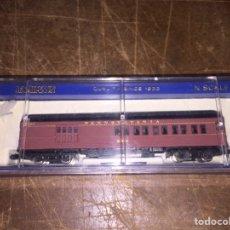 Trenes Escala: BACHMANN PENNSYLVANIA 6901 CON LUZ VAGON ESCALA N. Lote 194731612