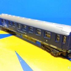 Trenes Escala: VAGÓN PASAJEROS ESCALA N TOUROPA CFPC - MINITRIX N 3013 EXPRESO DURMIENTE . Lote 194874155