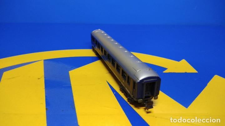 Trenes Escala: Vagón pasajeros Escala N TOUROPA CFPC - Minitrix N 3013 Expreso Durmiente - Foto 4 - 194874155