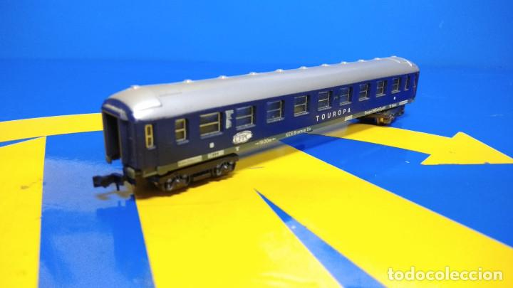 Trenes Escala: Vagón pasajeros Escala N TOUROPA CFPC - Minitrix N 3013 Expreso Durmiente - Foto 5 - 194874155