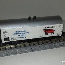 Trenes Escala: MINITRIX N CERRADO PALADIN L44-301 (CON COMPRA DE 5 LOTES O MAS ENVÍO GRATIS). Lote 194880235