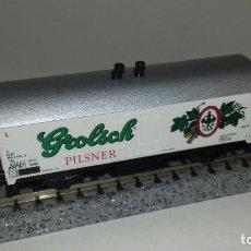 Trenes Escala: MINITRIX N CERVECERO L44-302 (CON COMPRA DE 5 LOTES O MAS ENVÍO GRATIS). Lote 194880657