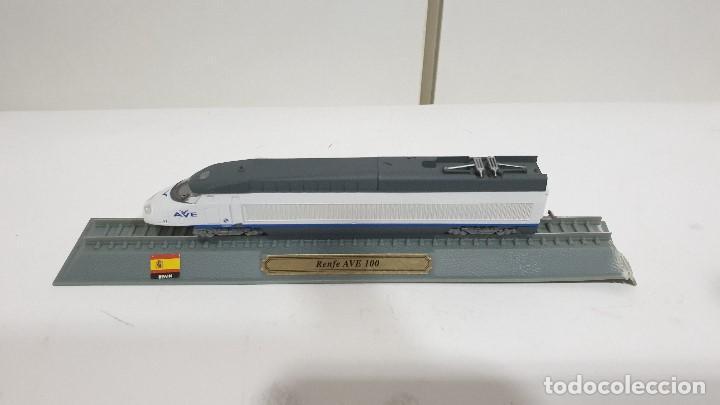 EDICIONES DEL PRADO RENFE AVE 100 TRENES METAL ESCALA 1:160 (Juguetes - Trenes Escala N - Otros Trenes Escala N)