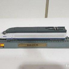 Trenes Escala: EDICIONES DEL PRADO RENFE AVE 100 TRENES METAL ESCALA 1:160. Lote 194892092