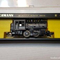 Trenes Escala: BACHMANN LOCOMOTORA VAPOR BALTIMORE ESCALA N EN BLISTER. Lote 195053132
