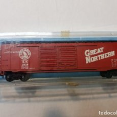 Trenes Escala: ATLAS VAGON GREAT NORTHERN REF.2334 ESCALA N EN BLISTER. Lote 195150286