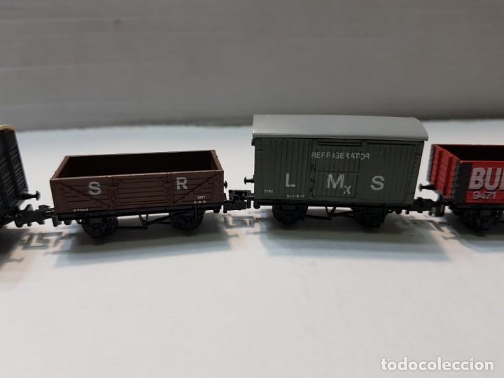 Trenes Escala: Locomotora Vapor y 5 vagones Graham Farish escala N - Foto 3 - 195153128