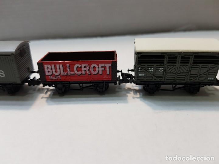 Trenes Escala: Locomotora Vapor y 5 vagones Graham Farish escala N - Foto 4 - 195153128