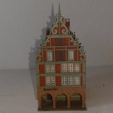Trenes Escala: KIBRI : ANTIGUO EDIFICIO RATSKELLER REF. 37091 DECORADO MAQUETA TREN MADE IN GERMANY ESCALA N . Lote 195313246