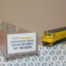 Trenes Escala: LOCOMOTORA MF TRANS RENFE N13223. Lote 195427783