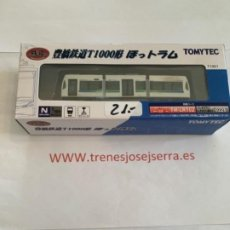 Trenes Escala: TOMYTEC N TRANVIA ARTICULADO T1001. Lote 221127231