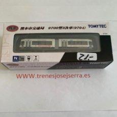 Trenes Escala: TOMYTEC N TRANVIA ARTICULADO 9704. Lote 222857488